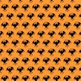 Vector silhouette of bat Stock Photo