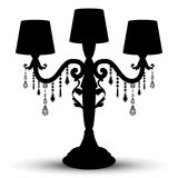 Vector silhouette of candlesstick Royalty Free Stock Photo
