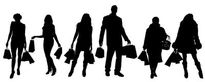 Vector People Silhouette Stock Photo Image 5007830