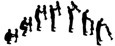 Daddy daughter dance clip art black and white