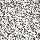 Vector silver abstract retro vintage pixel mosaic Stock Photo