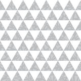 Vector silver grey triangle textured seamless repeat pattern background.   Stock Photo