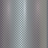 Vector silver grille on steel background Stock Image