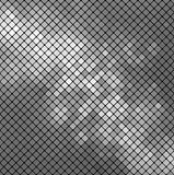 Vector silver mosaic. Vector metallic background. This is file of EPS10 format Stock Photos
