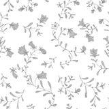 Vector simple del estampado de flores del color en colores pastel inconsútil imagen de archivo