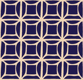 A vector simple grid bicolor  pattern Royalty Free Stock Photo