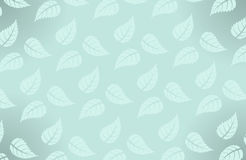 Vector simple Hawaiian pattern with leaves Stock Image