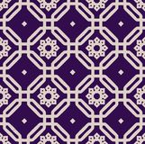 A vector simple square pattern Royalty Free Stock Images