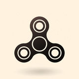 Vector Single Icon - Plaything Spinner Royalty Free Stock Photo