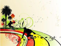 Vector skater illustration Stock Images