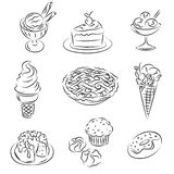 Vector Sketch Royalty Free Stock Photos