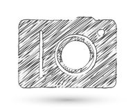 Vector sketch style icon Royalty Free Stock Photo