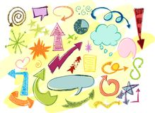 Free Vector Sketches Stock Photos - 10709723
