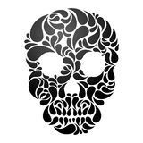 Vector Skull Stock Image