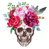 Vector Skull Royalty Free Stock Photography
