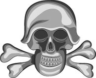 Vector skull Royalty Free Stock Photo