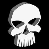 Vector skull Royalty Free Stock Image