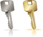 Vector sleutel. Stock Afbeelding