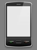 Vector slimme telefoon Stock Foto