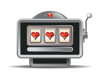 Vector Slot-machine Royalty Free Stock Photography