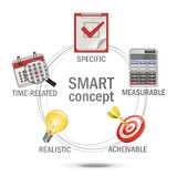 Vector SMART Concept Royalty Free Stock Photos