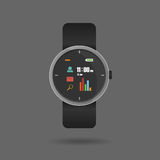 Vector of Smart watch Stock Photography
