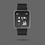 Vector of Smart watch Royalty Free Stock Photography