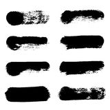 Vector smear set Stock Images