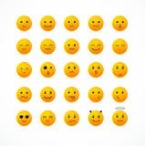 Vector smile icon set. Vector illustration smile icon set. Editable For Your Design Stock Photos