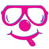 Vector Smile T-Shirt logo Stock Photos