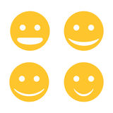 Vector Smiley Royalty Free Stock Photography