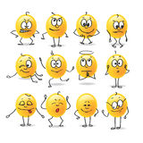 Vector smiley emotions Royalty Free Stock Photo