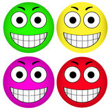 Vector smiley smiley Stock Images