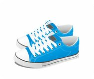 Vector sneakers Stock Images