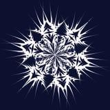 Vector sneeuwvlok Stock Foto