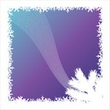 Vector. Snow background Royalty Free Stock Image