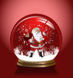 Vector snow globe. Stock Image