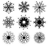 Vector of Snow Icon Royalty Free Stock Images