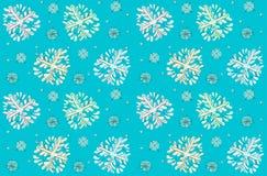 Vector snowfall texture. Cute winter seamless  snowfall texture Stock Photos