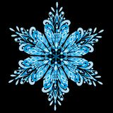 Vector snowflake Stock Photos