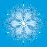 Vector snowflake Royalty Free Stock Photo