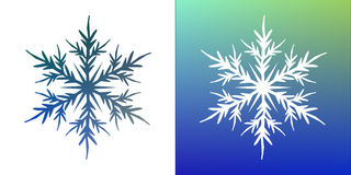 Vector snowflake stock illustration