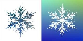 Vector snowflake Royalty Free Stock Photo