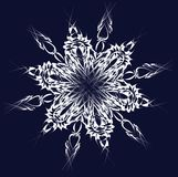 Vector snowflake Royalty Free Stock Photos