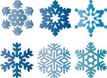 Vector Snowflake Stock Image