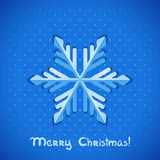 Vector snowflake. Stock Photo