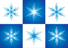 Vector snowflakes vector illustration