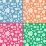 Vector Snowflakes Set Royalty Free Stock Photos