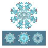 Vector snowflakes symbol design Royalty Free Stock Photo