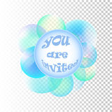 Vector Soap bubbles Royalty Free Stock Photography